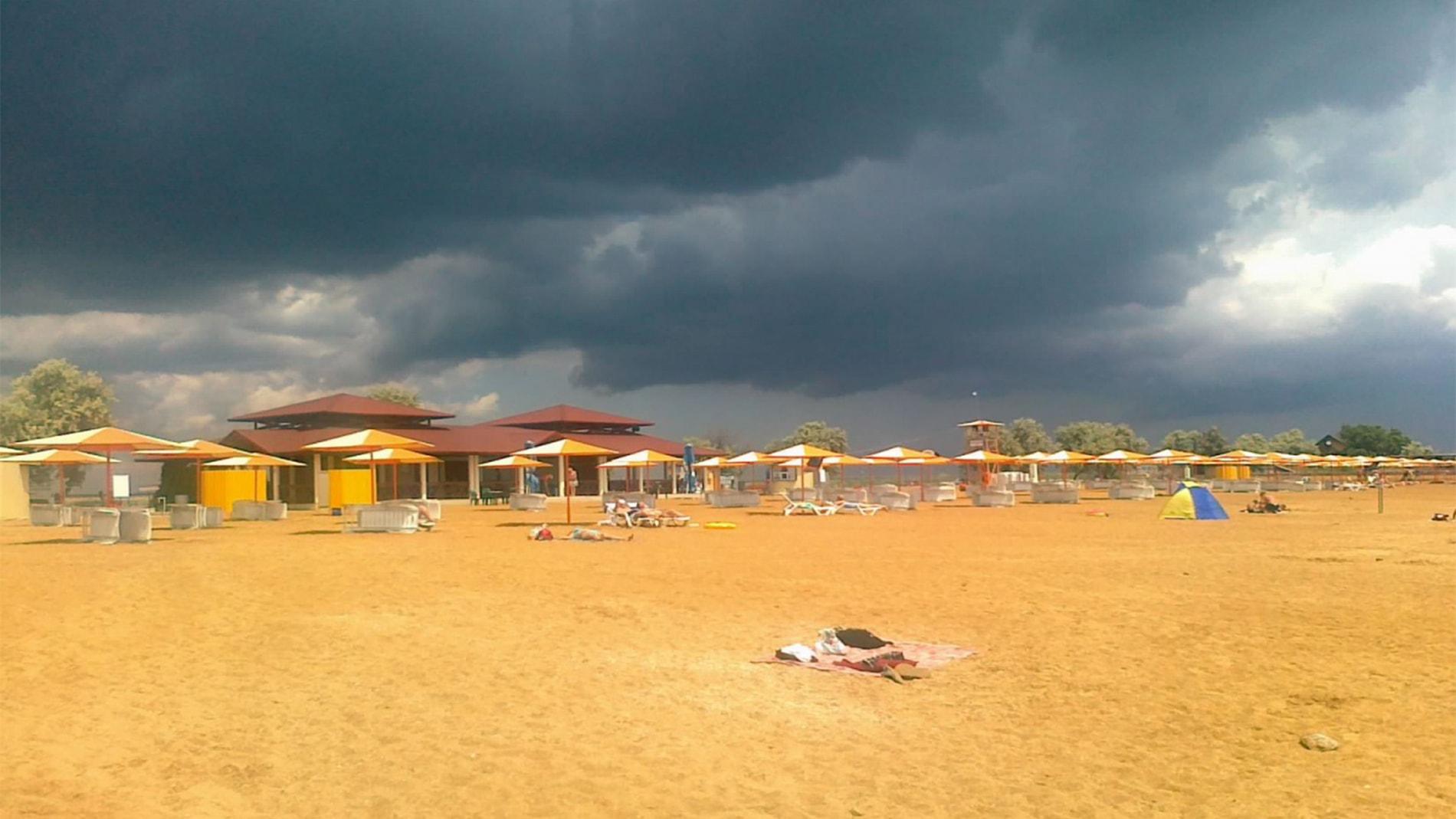 Золотой пляж феодосия фото пляжа