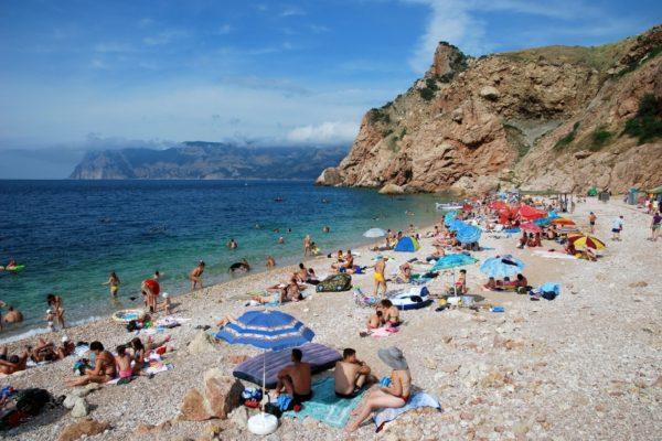 Балаклава пляж