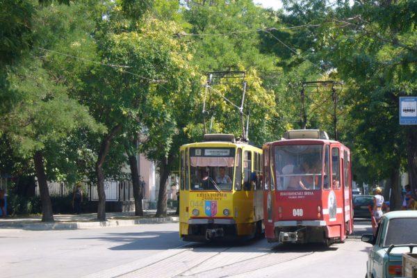 евпатория трамвай
