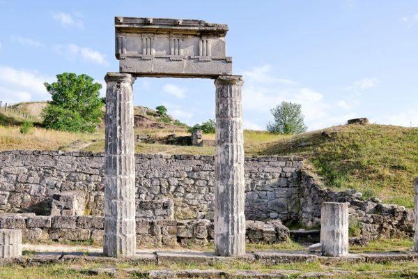 Руины Пантикапея