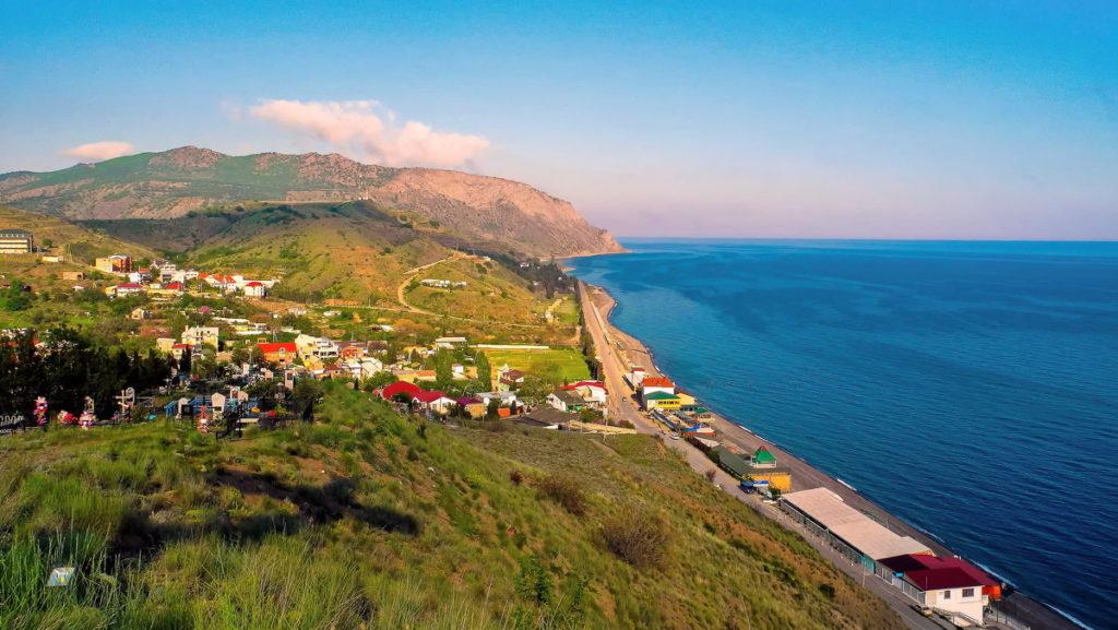 село морское